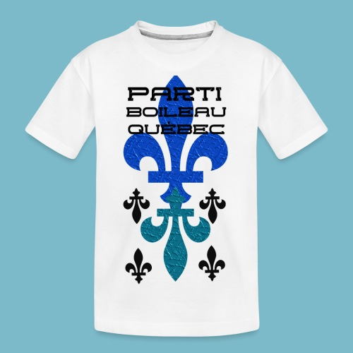 party boileau 9 - Kid's Premium Organic T-Shirt