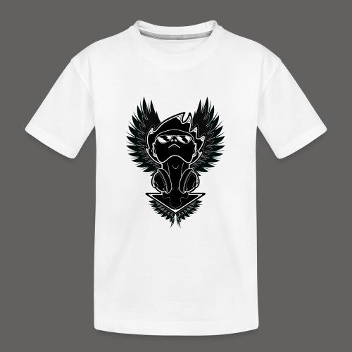 Winged Dj - Kid's Premium Organic T-Shirt