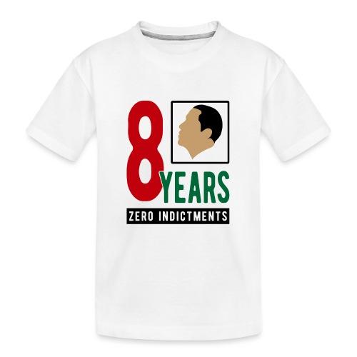 Obama Zero Indictments - Kid's Premium Organic T-Shirt