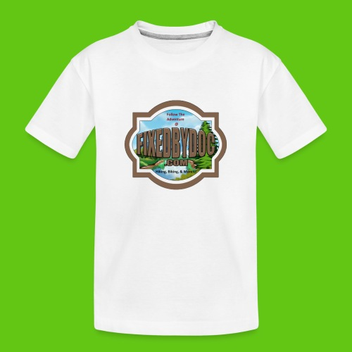 New FBD logo with words and clear background - Kid's Premium Organic T-Shirt