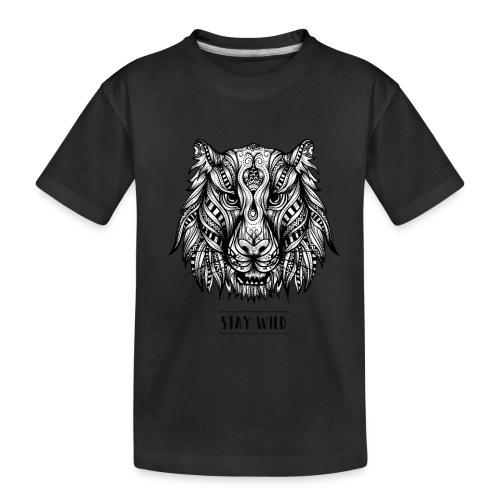 Stay Wild - Kid's Premium Organic T-Shirt