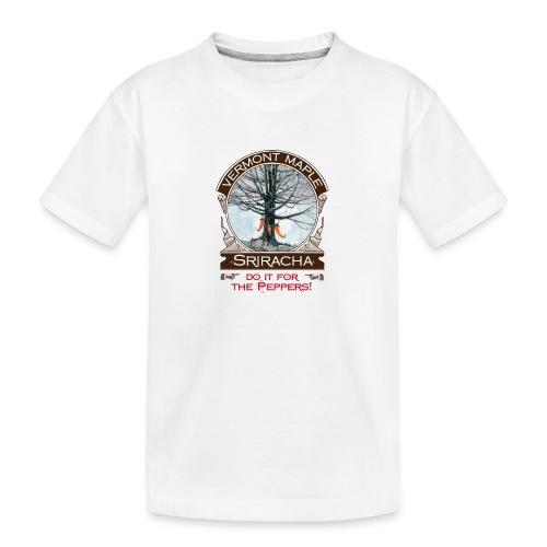 Vermont Maple Sriracha - Kid's Premium Organic T-Shirt