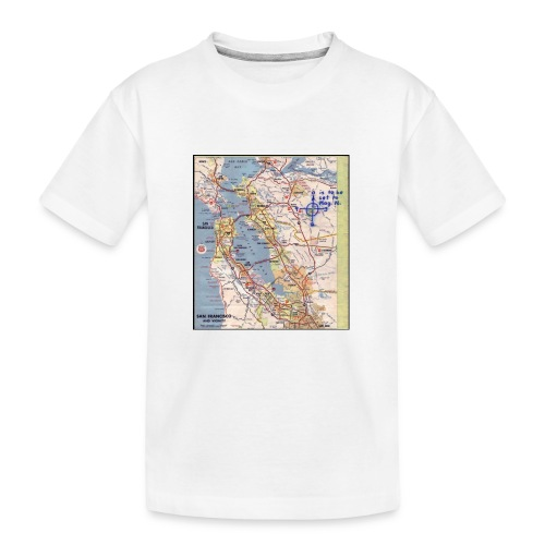 Phillips 66 Zodiac Killer Map June 26 - Kid's Premium Organic T-Shirt