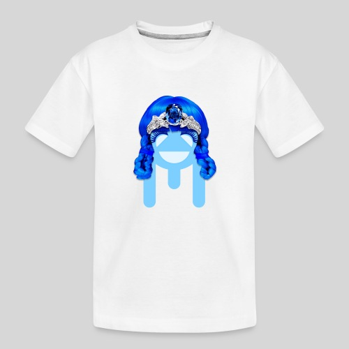 ALIENS WITH WIGS - #TeamMu - Kid's Premium Organic T-Shirt