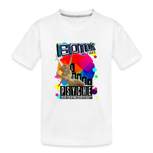 BOTOX MATINEE LOVE & PSYCHE T-SHIRT - Kid's Premium Organic T-Shirt