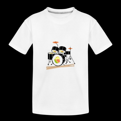 Sushi Roll Drum Set - Kid's Premium Organic T-Shirt