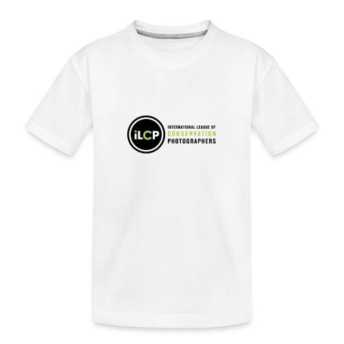 iLCP logo horizontal RGB png - Kid's Premium Organic T-Shirt