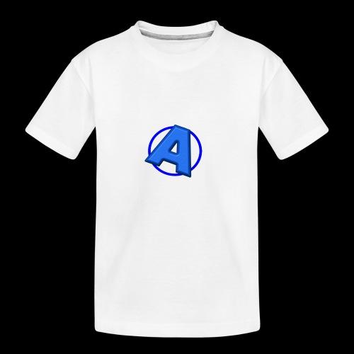 Awesomegamer Logo - Kid's Premium Organic T-Shirt