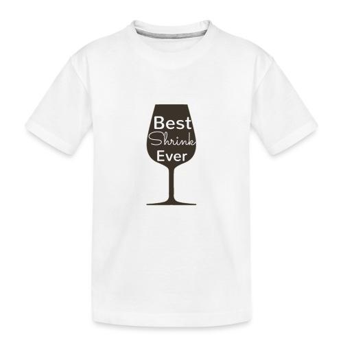 Alcohol Shrink Is The Best Shrink - Kid's Premium Organic T-Shirt