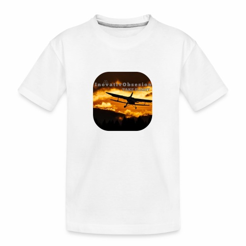 "InovativObsesion ""TAKE FLIGHT"" apparel - Kid's Premium Organic T-Shirt"