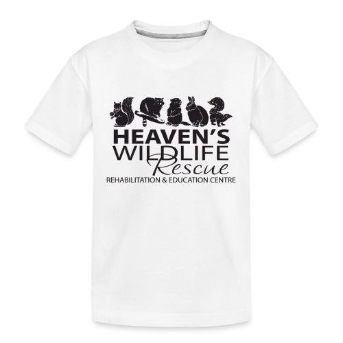 Heaven's Wildlife Rescue - Kid's Premium Organic T-Shirt