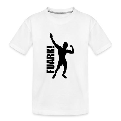 Zyzz Silhouette FUARK - Kid's Premium Organic T-Shirt