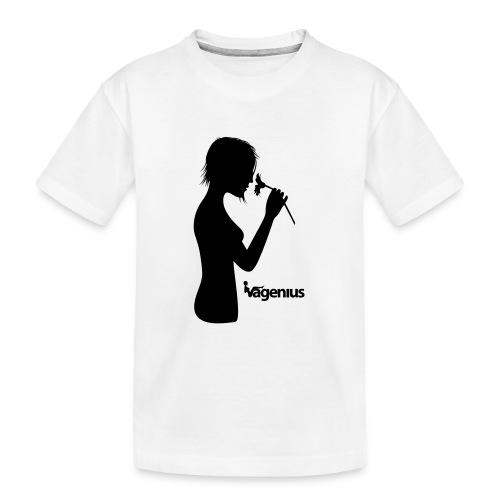 flower girl - Kid's Premium Organic T-Shirt