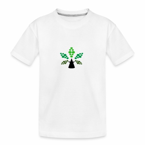 Tri City TriChomes FINAL LOGO 645AM 1 - Kid's Premium Organic T-Shirt