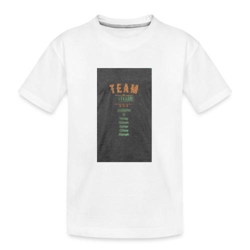 Team 10JR official - Kid's Premium Organic T-Shirt