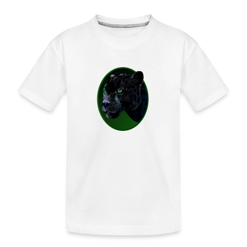 Big Black Jaquar - Kid's Premium Organic T-Shirt