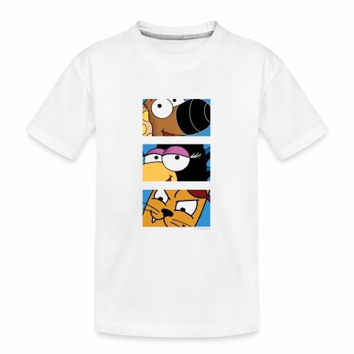Rantdog Trio - Kid's Premium Organic T-Shirt