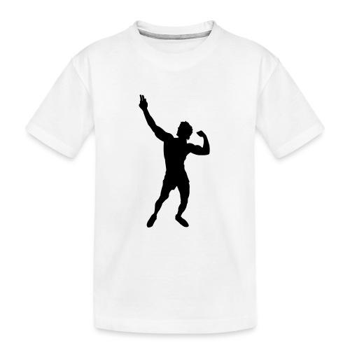 Zyzz Silhouette vector - Kid's Premium Organic T-Shirt