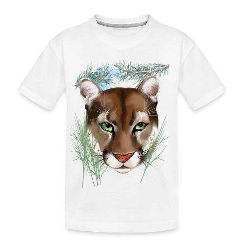 Midnight Puma - Kid's Premium Organic T-Shirt