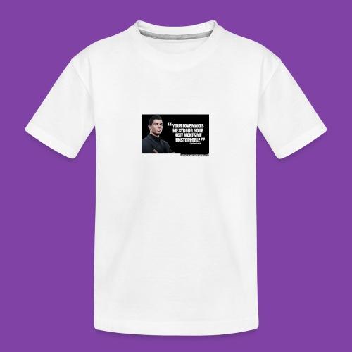 255777-Cristiano-ronaldo------quote-w - Kid's Premium Organic T-Shirt