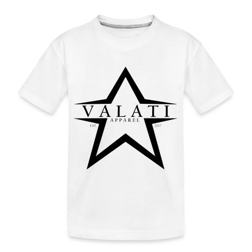 V-STAR Black - Kid's Premium Organic T-Shirt