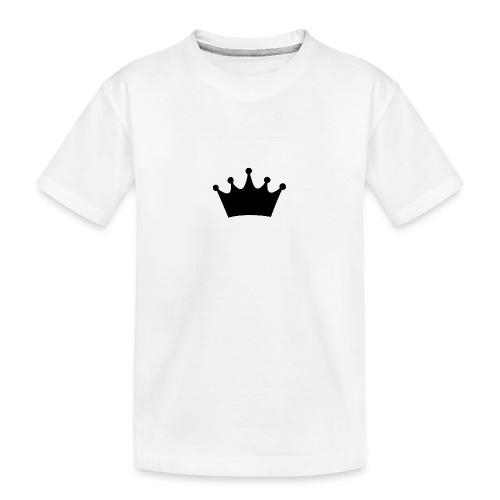 CROWN - Kid's Premium Organic T-Shirt