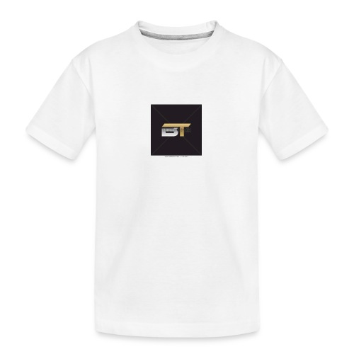 BT logo golden - Kid's Premium Organic T-Shirt