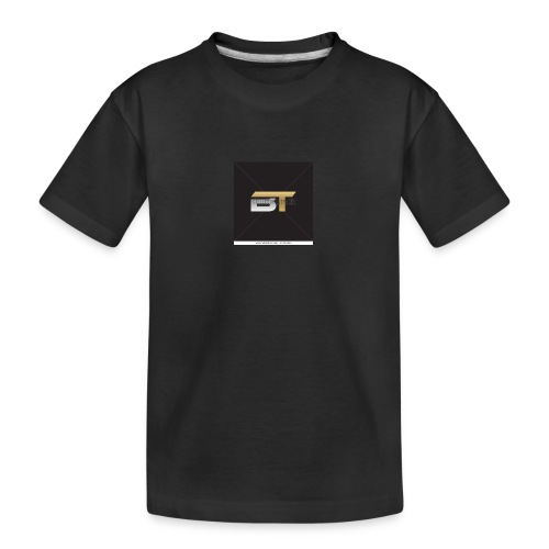 BT logo golden - Kid's Premium Organic T-Shirt