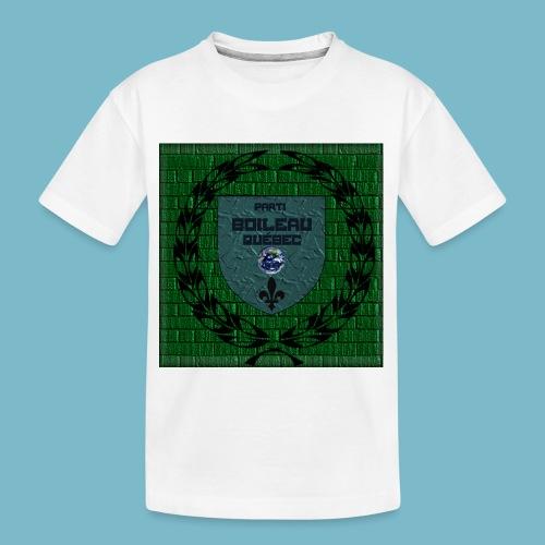 party boileau 7 - Kid's Premium Organic T-Shirt