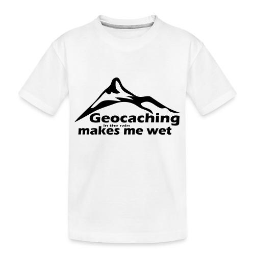 Wet Geocaching - Kid's Premium Organic T-Shirt