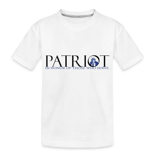 PATRIOT_SAM_USA_LOGO - Kid's Premium Organic T-Shirt