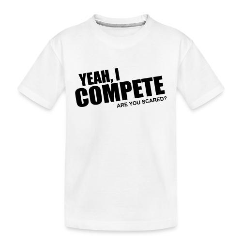 compete - Kid's Premium Organic T-Shirt