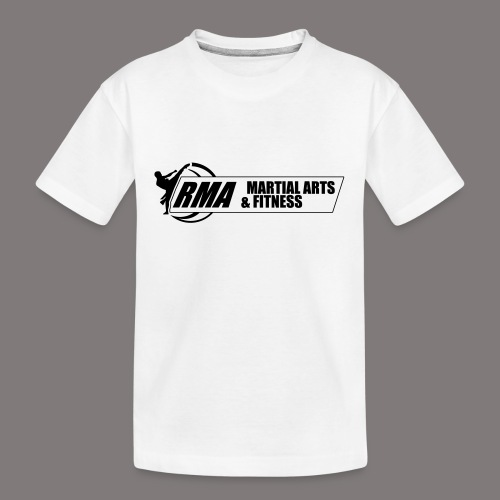 RMA-full-logo-Front-1clr- - Kid's Premium Organic T-Shirt
