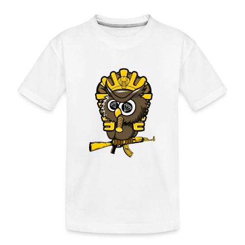 king otrg owl - Kid's Premium Organic T-Shirt