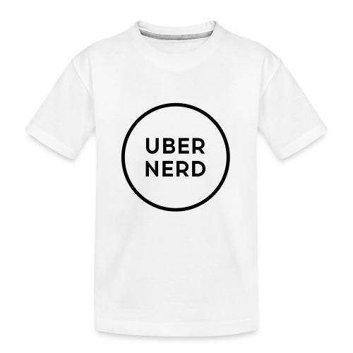 uber nerd logo - Kid's Premium Organic T-Shirt