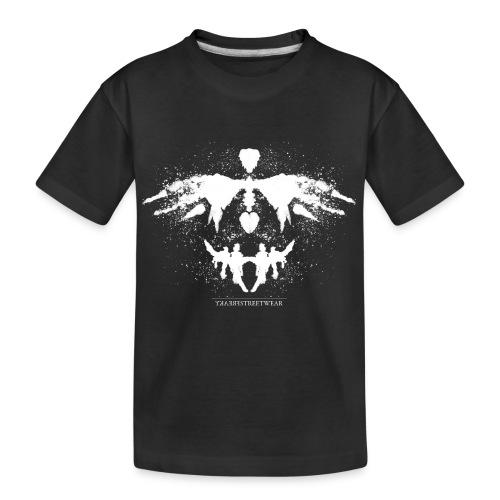 Rorschach_white - Kid's Premium Organic T-Shirt