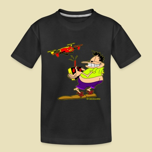 GrisDismation Ongher Droning Out Tshirt - Kid's Premium Organic T-Shirt