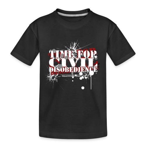 civil disobedience - Kid's Premium Organic T-Shirt
