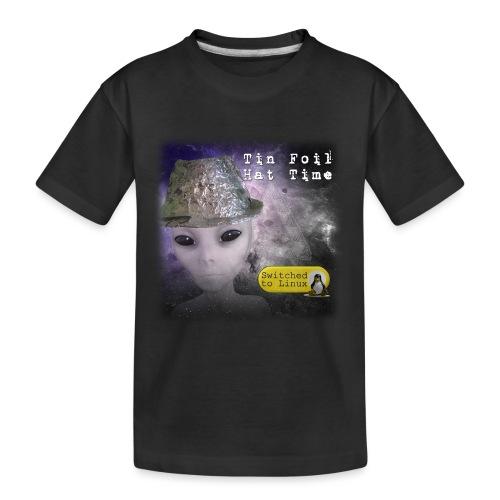 Tin Foil Hat Time (Space) - Kid's Premium Organic T-Shirt