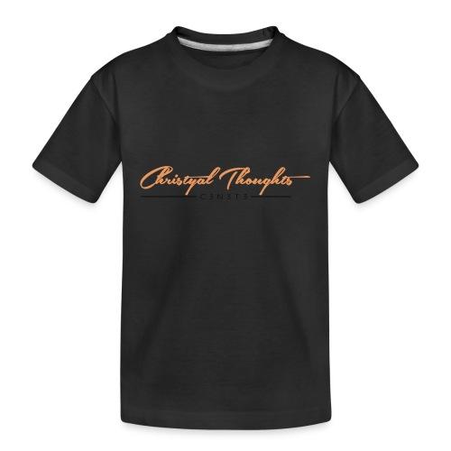 Christyal Thoughts C3N3T31 O - Kid's Premium Organic T-Shirt