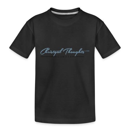 Christyal Thoughts C3N3T31 DBO - Kid's Premium Organic T-Shirt