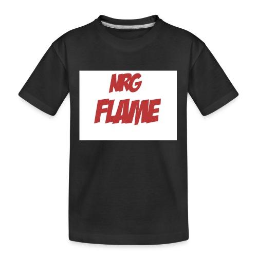 FLAME - Kid's Premium Organic T-Shirt