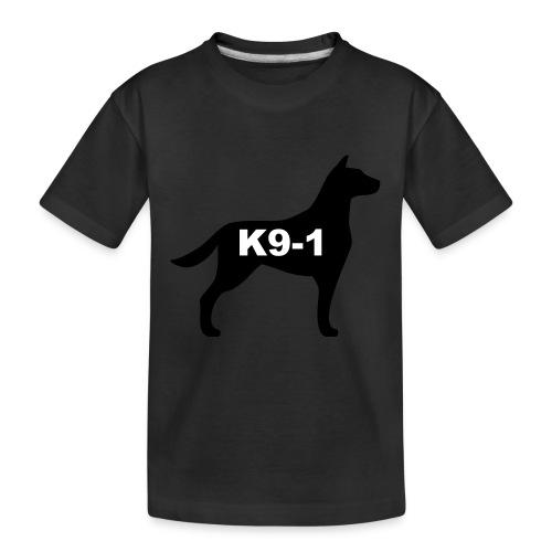 k9-1 Logo Large - Kid's Premium Organic T-Shirt
