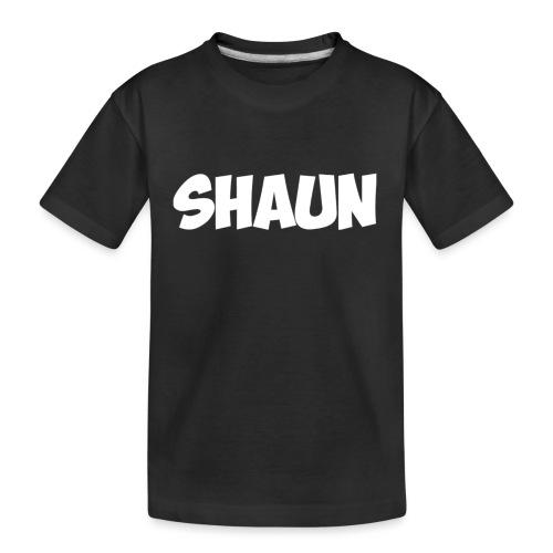 Shaun Logo Shirt - Kid's Premium Organic T-Shirt