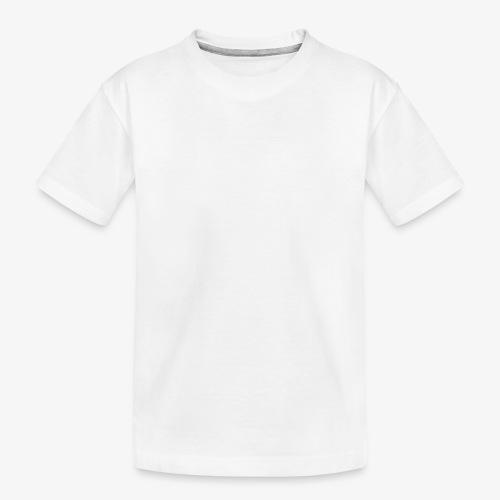 MTMEIK White Logo - Kid's Premium Organic T-Shirt