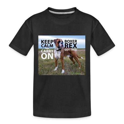 Keep calm and carry on - Kid's Premium Organic T-Shirt
