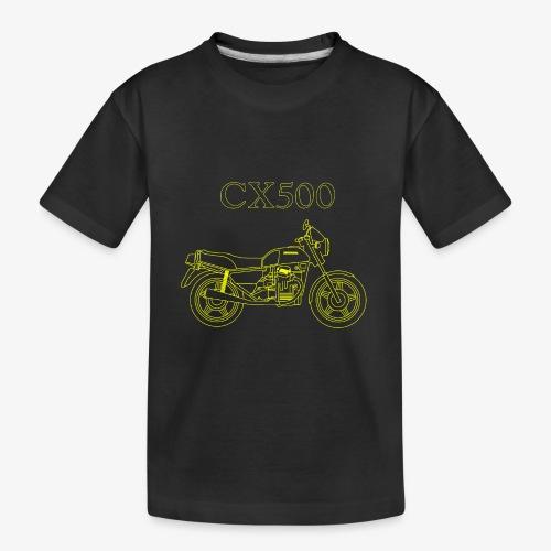 CX500 line drawing - Kid's Premium Organic T-Shirt