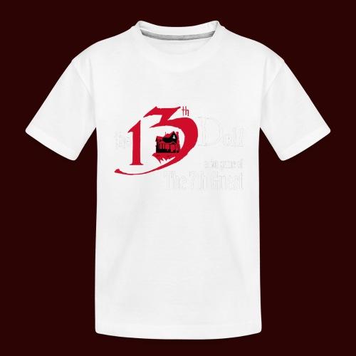 The 13th Doll Logo - Kid's Premium Organic T-Shirt