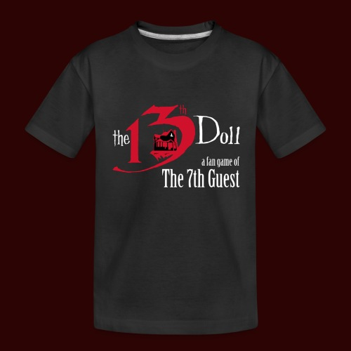 The 13th Doll Logo - Kid's Premium Organic T-Shirt