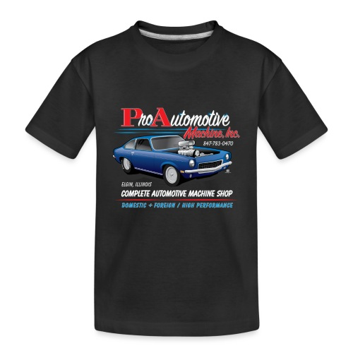 ProAutoTeeDesign062317fin - Kid's Premium Organic T-Shirt
